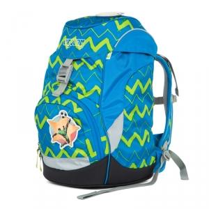 ergobag Prime iskolatáska - hátizsák - LiBEARo – HolnemBolt. Cikk-cakk  mintás iskolatáska és hátizsák focistás matricákka. 6af1f12b78