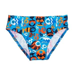 Halas mintás kisfiú úszó – CocoBana. Türkizkék alapon 32dd85a552