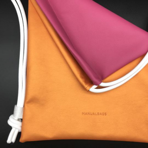 BISIDE ORANGE & PINK – MANUALBAGS